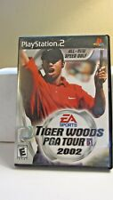 Tiger Woods Pga Tour 2002 (Sony PlayStation 2, 2002) Free Shipping