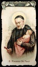 santino cromo-holy card-PAL-S.VINCENZO DE PAOLI 1