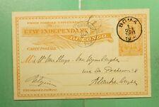 DR WHO 1906 BELGIUM CONGO BOMA POSTAL CARD  g09488
