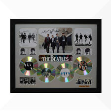 The Beatles Signed & Framed Memorabilia - 4 CD - Silver - Limited Edition