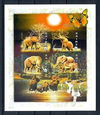 FRANCE ZAIRE 1997  BLOCK IMPERF  ELEPHANT   **  VF
