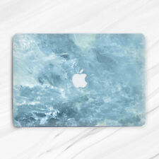 Ocean Ice Marble Blue Water Girly Man Hard Case For Macbook Air 13 Pro 16 13 15