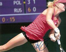 Urszula Radwanska SEXY Tennis 8x10 Photo Signed Auto W/COA