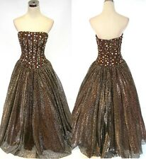 NWT PANOPLY 14406 LEOPARD $438 Ball Pageant Prom Gown 6