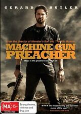 Machine Gun Preacher - DVD VERY GOOD CONDITION FREE POSTAGE AUS REGION 4