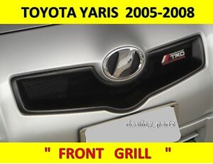 FRONT GRILL FOR TOYOTA YARIS 5DOOR HATCHBACK 2006 - 2012