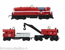 Hallmark 2013 Lionel Minneapolis and St. Louis Work Train Miniature Ornament