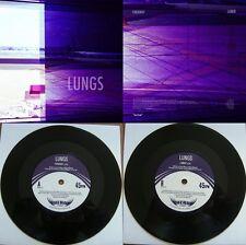 "LUNGS Faraway / Loner Hero Records ltd 7"" + free d/l code Dream Pop Guillemots"