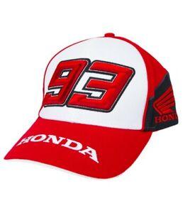 Honda Motorcycles HRC Dual MM93 Marc Marquez Red Baseball Cap Hat NEW