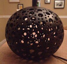 wood lamp base