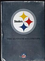 NFL Pittsburgh Steelers Giftset (DVD, 2006, 5-Disc Set) SEALED BRAND NEW