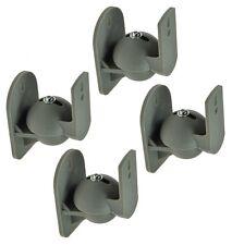 Lautsprecher Wandhalterung A51 Grau passend für SAMSUNG HT-E4500 Boxen Halterung