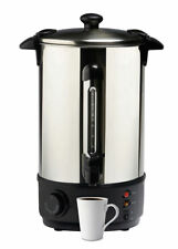 10 Litre 40 Cup Electric Stainless Steel Hot Water Boiler Warmer Heater Urn Tap
