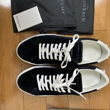 Givenchy Men Velvet Low-Top Sneaker 770$ Size 42