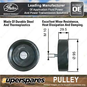 Gates DriveAlign Alternator Idler Pulley for Hyundai i30 PDE PD 1.6L 150kW