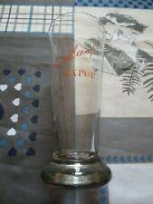 Ancien verre export piedboeuf oude glas