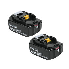 2 X Makita BL1840B 18V Volt4.0Ah LXT Lithium-Ion Battery with Indicator