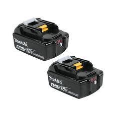 2 X Makita BL1840B 18V Volt4.0Ah LXT Li-Ion Battery with Indicator