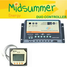 EPsolar 10A Dual Duo Battery Solar PV PWM Regulator - with MT1 LCD Display