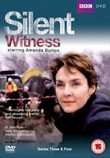 Silent Witness Series 3 + 4 Box Set (Amanda Burton) Region 4 New 4xDVD