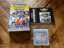 Sonic DRIFT RACING SEGA Game Gear Spiel