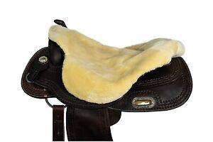 Saddle For Saddle Western Sheepskin Synthetic