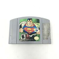 Superman - Nintendo N64 Game Authentic Cartridge Tested