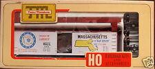 Train Miniature TM - Massachusetts Commemorative State 40' Wood Box Car Kit