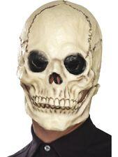 Skull Mask, Foam Latex Scary Skeleton Halloween Fancy Dress Costume Accessory
