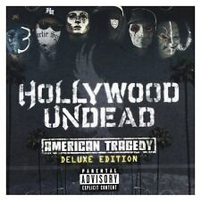 """HOLLYWOOD UNDEAD """"AMERICAN TRAGEDY"""" CD NEW!"""