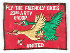 WARTIME US ARMY 23RD ARTILLERY GROUP PATCH (38)