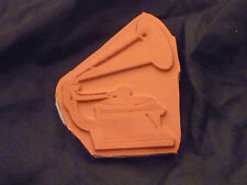 Gramophone Rubber Stamp