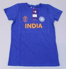India Team Women's Fanatics 2019 ICC World Cup T-Shirt KF Royal Blue Size 10 NWT