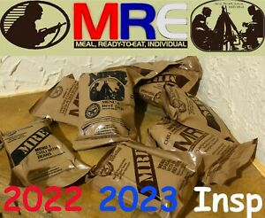 US USA MRE MILITARY RATION PACKS RCIR CASE SELECT MENU 2022 MEALS READY TO EAT