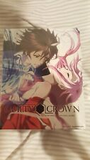 Guilty Crown Part 1 Limited Edition BluRay and DVD