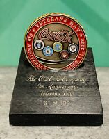 2008 Coca-Cola Veterans Day RARE Challenge Coin VIP Box Set! Numbered to 100!