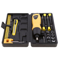 Power Tool Cordless Drill Battery Electric Screwdriver Nut Driver Bits Set