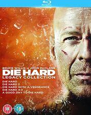 DIE HARD 1-5 Legacy Collection Box Set - Blu-ray (John McClane / Bruce Willis)