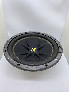 Kicker Comp C10 2007 1-Way 10in. Car Subwoofer Excellent Condition