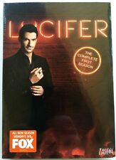 NEW SEALED LUCIFER COMPLETE FIRST SEASON DVD 3 DISC SET + SLIPCOVER FREE SHIPING