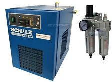 SCHULZ 20 CFM REFRIGERATED COMPRESSED AIR COMPRESSOR DRYER 115V, COMPLETE KIT