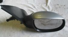 PEUGEOT 206 RIGHT SIDE MANUAL DOOR MIRROR SILVER FINNISH  FROM 2001