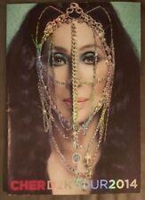 "Cher ""Dressed To Kill"" Tour Program 15"" x 10 1/2"" D2K Tour 2014"