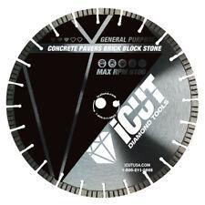 "16"" iCUT™ all terrain pro 12mm high turbo segment diamond blade laser welded"