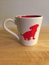 Target Store Dog Logo Coffee Mug Cup Spot Bullseye White and Red