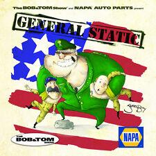 Bob and Tom General Static 26 track 2010 CD NEW! (USO/troop promo cd)