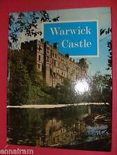 Warwick Castle Treasures 1970  UK History/ Guide Book Jarrold by J A Brooks