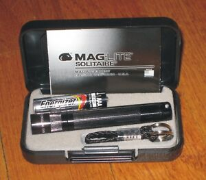 Maglite AAA Solitaire Black  maglight  mag-lite   mag-light
