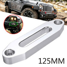 4000lbs Alumimum Hawse Fairlead For Synthetic Winch Rope Cable Lead SUV/ATV