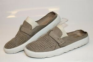 Merrell J94346 Around Town City Slip Ons Pine Bark Womens 9 40 Leather Shoes